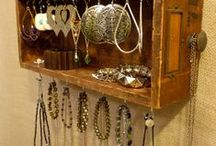 Jewelry Displays and Storage Ideas / how to display and feature various jewelry around your house. / by Lana Artz- Prine