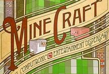 Minecraft / O'Fallon Public Library is now lending videogames! Minecraft is one of our favorites.