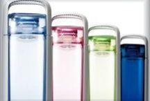 Drinkwaterflessen / Als je van huis gaat neem dan een fles water mee. ...... maar dan wel een leuke fles natuurlijk.