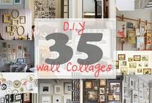 Decorating the Walls in your home....Hanging it / decorating ideas for walls in your home / by Lana Artz- Prine