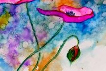 Alcohol Ink Creations / All the gorgeous art you can make with Alcohol Inks.