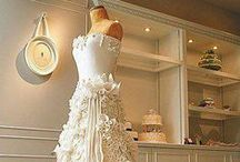 Wedding Dress Cakes / Wedding Dress Cakes