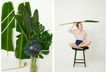 Textiles + Prints / Flower, tropical, plant based prints, fabrics, textiles and fashion / by Wilder Quarterly