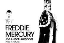 Freddie Mercury: The Great Pretender / A Life in Pictures -  http://www.insighteditions.com/Freddie-Mercury-The-Great-Pretender/dp/1608871789 / by Insight Editions