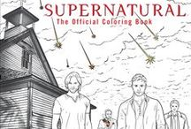 Supernatural / Supernatural Coloring Book http://amzn.to/2aeiLZw