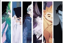 Art of Rise of the Guardians / by Ramin Zahed (October 2012) - http://www.insighteditions.com/The-Rise-Guardians-Ramin-Zahed/dp/1608871088 / by Insight Editions