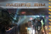 Pacific Rim: Man, Machine & Monsters / The Inner Workings of an Epic Film - http://www.insighteditions.com/Pacific-Rim-Man-Machines-Monsters/dp/1608871827 / by Insight Editions