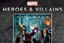 Marvel Heroes and Villians / The Poster Collection - http://www.insighteditions.com/Marvel-Heroes-Villains-Poster-Collection/dp/1608872742