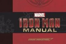 Iron Man Manual / Iron Man Manual - http://www.insighteditions.com/Iron-Man-Manual-Daniel-Wallace/dp/1608872750 / by Insight Editions