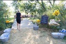 Ceremony Decor / Outdoor Wedding Ideas