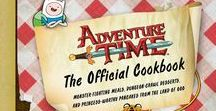 Adventure Time / Adventure Time: The Official Cookbook http://amzn.to/2awzpte -- Adventure Time: How to Warrior with Fionna and Cake http://bit.ly/AMZ_Fionna