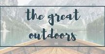 ::THE GREAT OUTDOORS:: / A board for outdoors tips, tricks, inspiration, packing lists and so on.