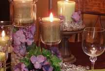 Centerpieces / Table Centerpieces and Table arranging. / by Paula Pereira