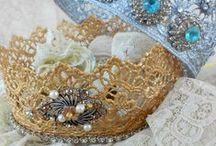 Crochet crown & Tiaras