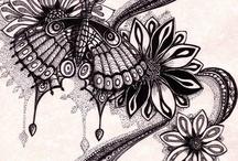 Doodles/Zentangles (Rangoli) (page 1) / by Paule Sullivan