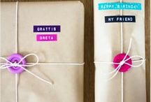 Gift Wrapping Ideas! / Try your hand at these interesting and unique gift wrapping suggestions