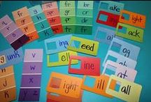 Phonics/Word Work / building phonics and word skills  / by Christina Prickett