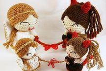 Angel crocheted