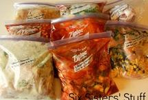 freezer meals / by Jen@ Health Happiness Hiccups