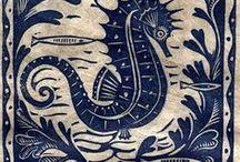 Linocut Print | Линогравюра