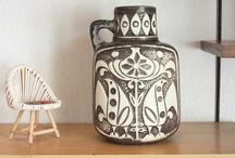 Mid Century German Pottery ♥