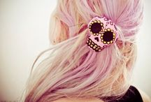 that hair! / Hairstyles. Colors, pretty, messy, crazy, chill and amazing