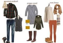 Fall Ready Already / Outfits for cooler weather featuring autumnal colors & layers, layers, layers.