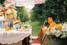 The great outdoors / Eating and living outdoors in beautiful settings