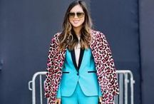 how to wear: color / The proper deployment of color.  From a little to a lot, it's all just right.