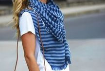 Scarf Style / Scarves to wear & how to wear them.