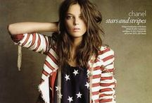 All American Style / Patriotic picks for a summer wardrobe.
