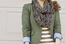 Olive, The Other Neutral / Olive plays so well with other colors, one might just consider it a neutral.