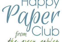 Happy Paper Club / Happy Paper Club is the monthly stationery and happy living subscription service from the green gables