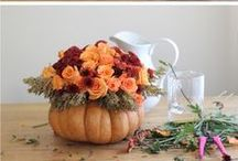 Holidays - Thanksgiving / Thanksgiving Décor and Food Ideas