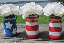 Holidays - Memorial Day, 4th of July, Labor Day / Great Outdoor Party Ideas for Memorial Day, 4th of July, and Labor Day