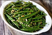 HEALTHY VEGGIE RECIPES / A list of recipes for vegetable side dishes that are made from all natural ingredients, call for fresh vegetables and contain no added sugar of any kind.