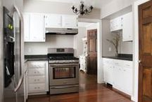 kitchens & dining rooms / by Ann Marie Heasley | whitehouseblackshutters.com