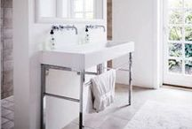bathrooms / by Ann Marie Heasley | whitehouseblackshutters.com