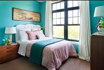 bedrooms / by Ann Marie Heasley | whitehouseblackshutters.com