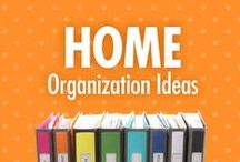 Home Organizing Ideas / Home sweet, decluttered home – that's what Alejandra Costello's home organization ideas, videos, best products, and tips can help you have! Her simple but creative Pinterest organizing solutions are perfect for making your house a home to more peace and less stress. / by Alejandra Costello | Home Organizing Tips, Ideas, Videos, & Best Products