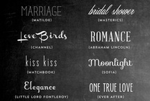 font loves / by Ann Marie Heasley | whitehouseblackshutters.com