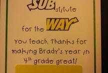 Gift Ideas: Teacher Appreciation / by Sonja Darden
