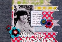 Scrapbook pages I like :) / by Destiny Rossback-Snow