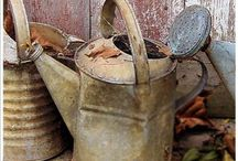 watering can....to cool
