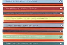 Penguin English Library / Welcome to the Penguin English Library: 100 of the best novels in the English language. Design by Coralie Bickford-Smith http://www.penguinenglishlibrary.co.uk/
