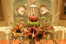 Halloween~Fall / Decorating ideas for Fall and Autumn and Halloween to Thanksgiving!  / by Sharon Spotts