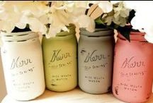 Party Essentials   Mason & Ball Jars / Mason and Ball jars are an essential tool for parties and gift giving!