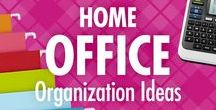 Home Office Organization Ideas / Enjoy Alejandra Costello's pin-worthy home office organization ideas, tips, videos, and best products, all of which can help you be more productive, feel more peaceful, and pinpoint exactly what you need to succeed (from home)!