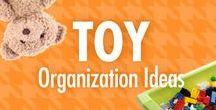 Toy Organization Ideas / It's all fun and games -- until you tell them it's time to clean up. Alejandra Costello's toy organization ideas, videos, best products, and tips can help you transform more than your kid's playroom or bedroom: Alejandra's organizing ideas can also help you transform clean-up time, too!