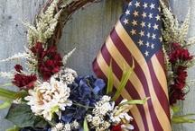 God bless America / by Tina Bucci